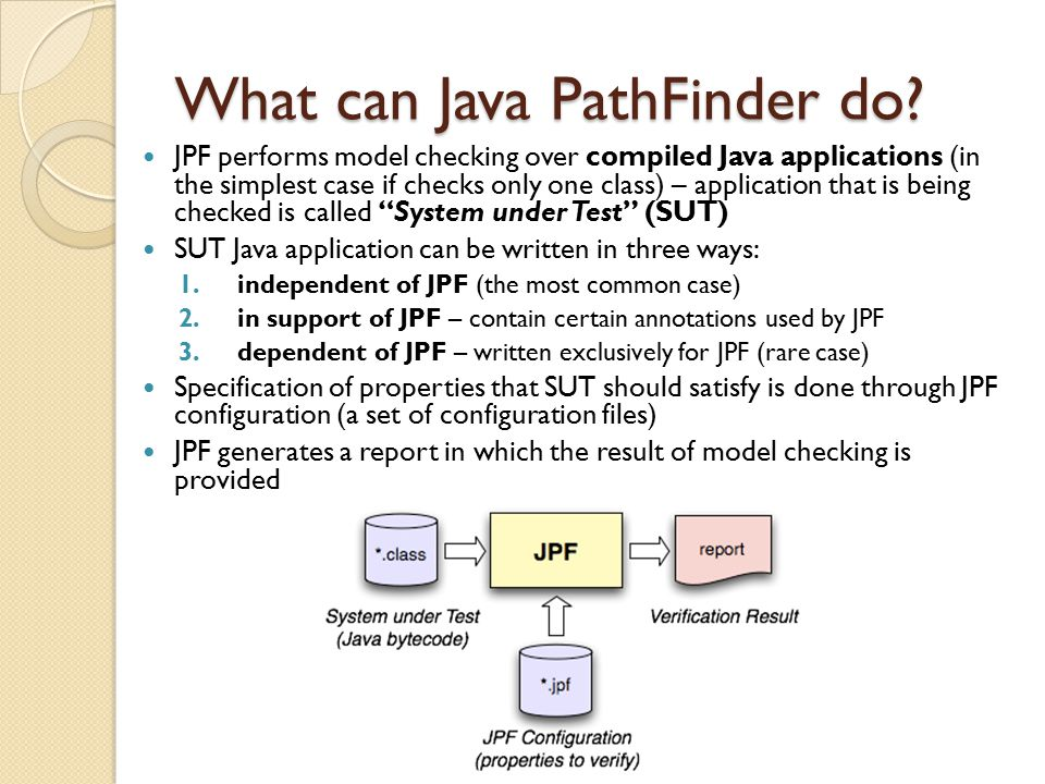 What can Java PathFinder do.