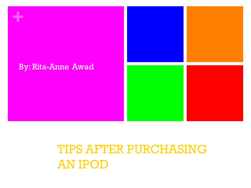 + Step 1-Find the Right Case & Screen Protector For Your iPod