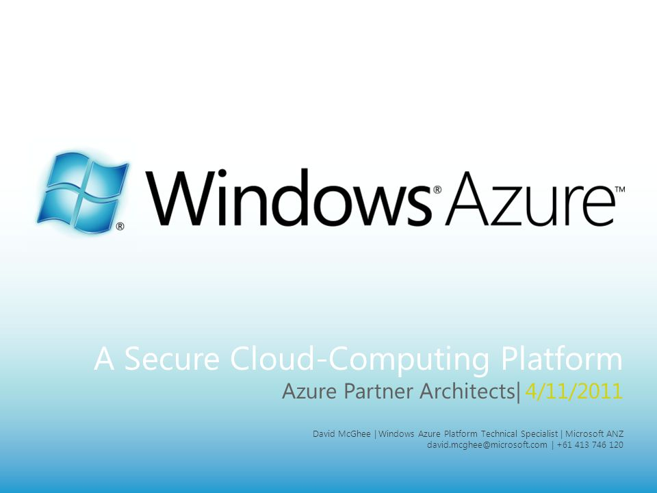 MICROSOFT CONFIDENTIAL Page 2 Agenda What is Azure.