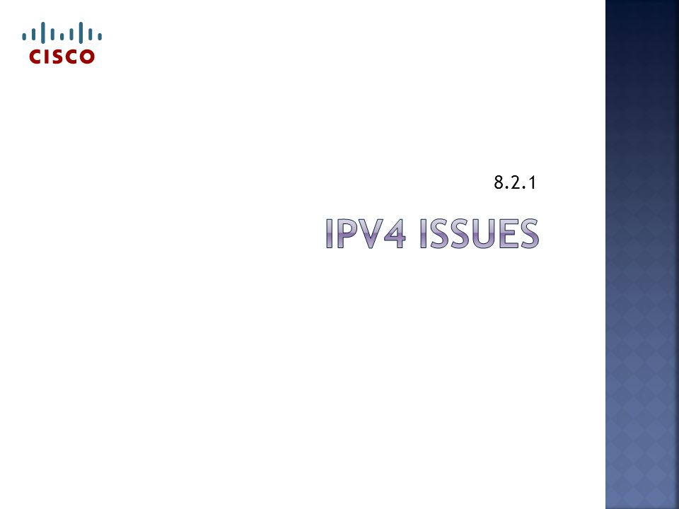  Dual stack  Runs both IPv4 & IPv6 at same time  Tunneling  Sending an IPv6 packet over IPv4 network  Translation  NAT64  Translates the packets from IPv4 to v6 & back