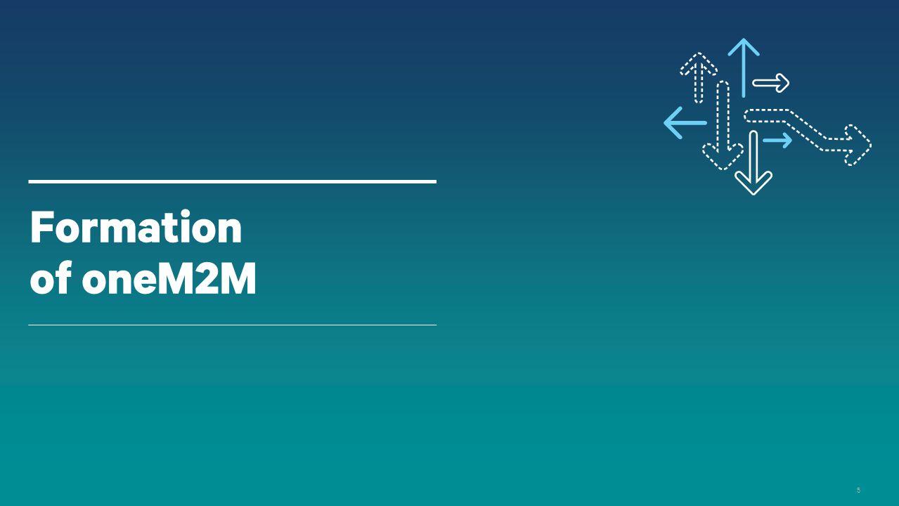 5 Formation of oneM2M