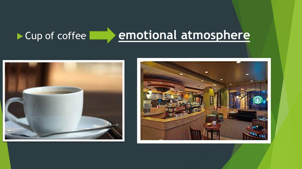  Cup of coffee emotional atmosphere