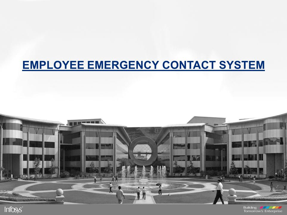  Employee Emergency contact system is an internet based portal where employees can update their safety status.