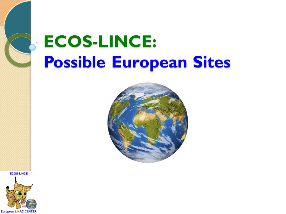 ECOS-LINCE: Possible European Sites
