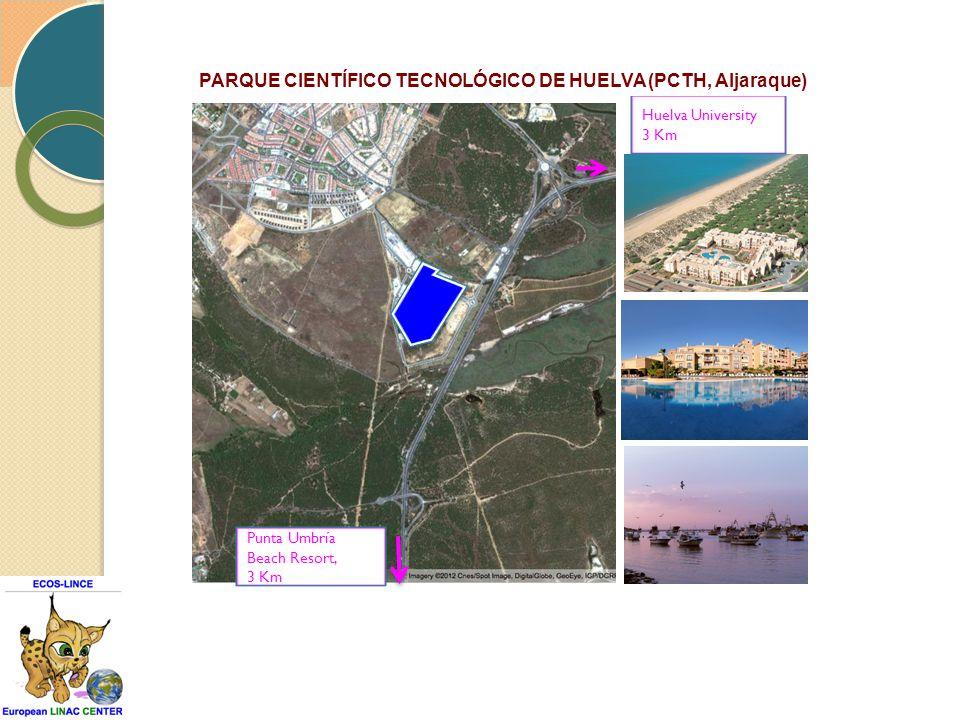 Punta Umbría Beach Resort, 3 Km Huelva University 3 Km PARQUE CIENTÍFICO TECNOLÓGICO DE HUELVA (PCTH, Aljaraque)
