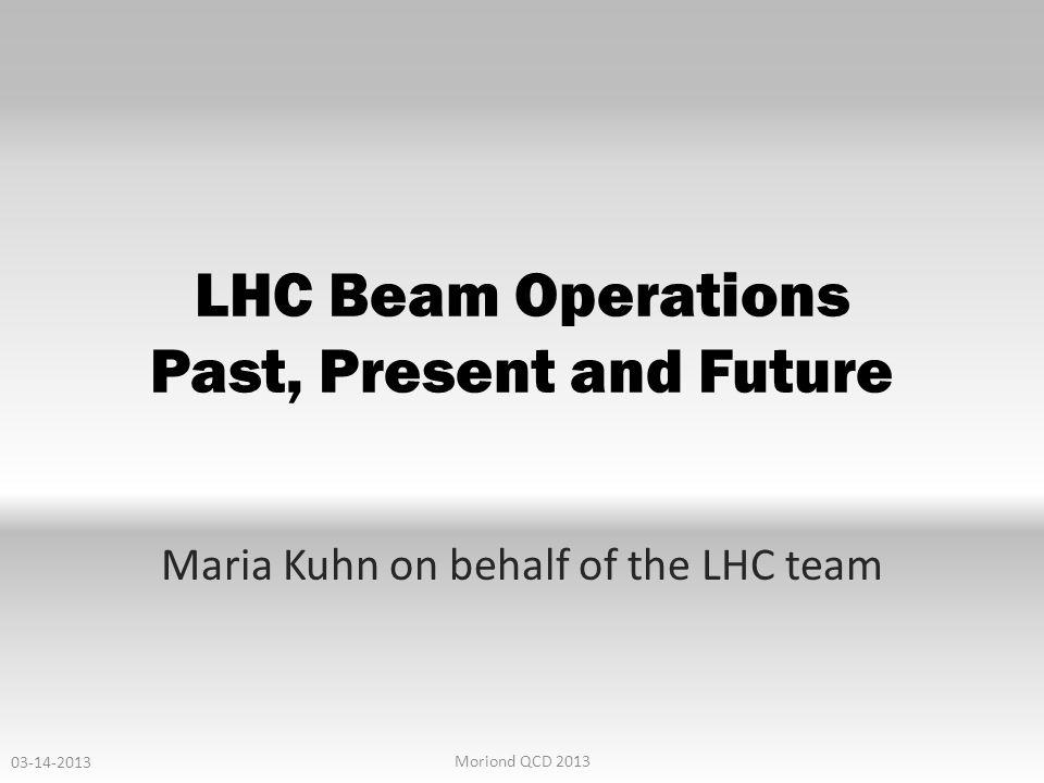 BACKUP 10-12-12 LHC Operation 32