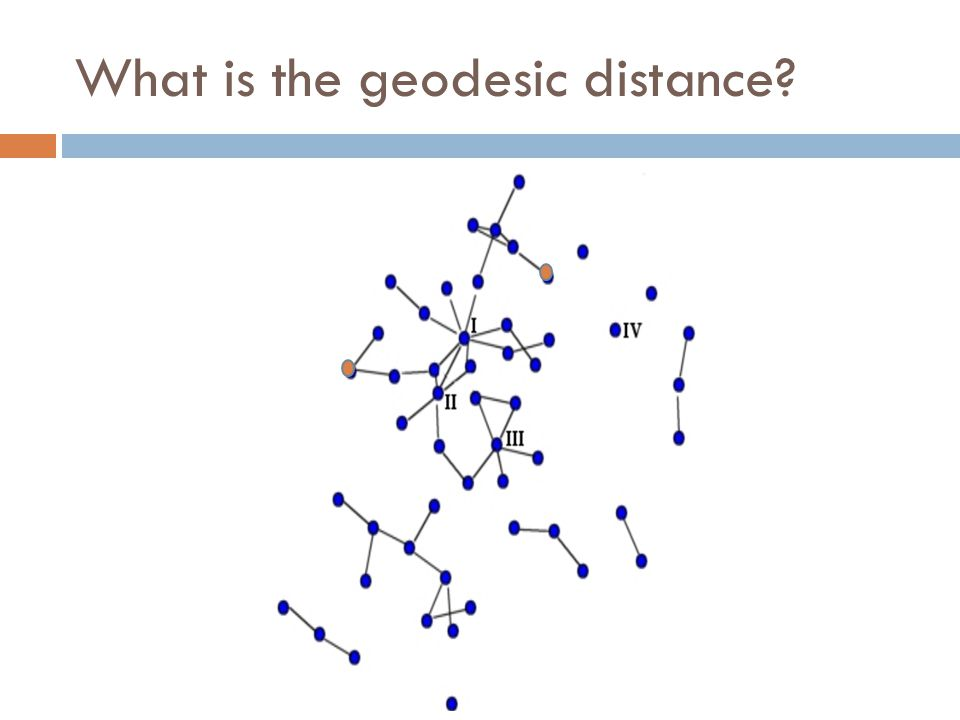 What is the geodesic distance
