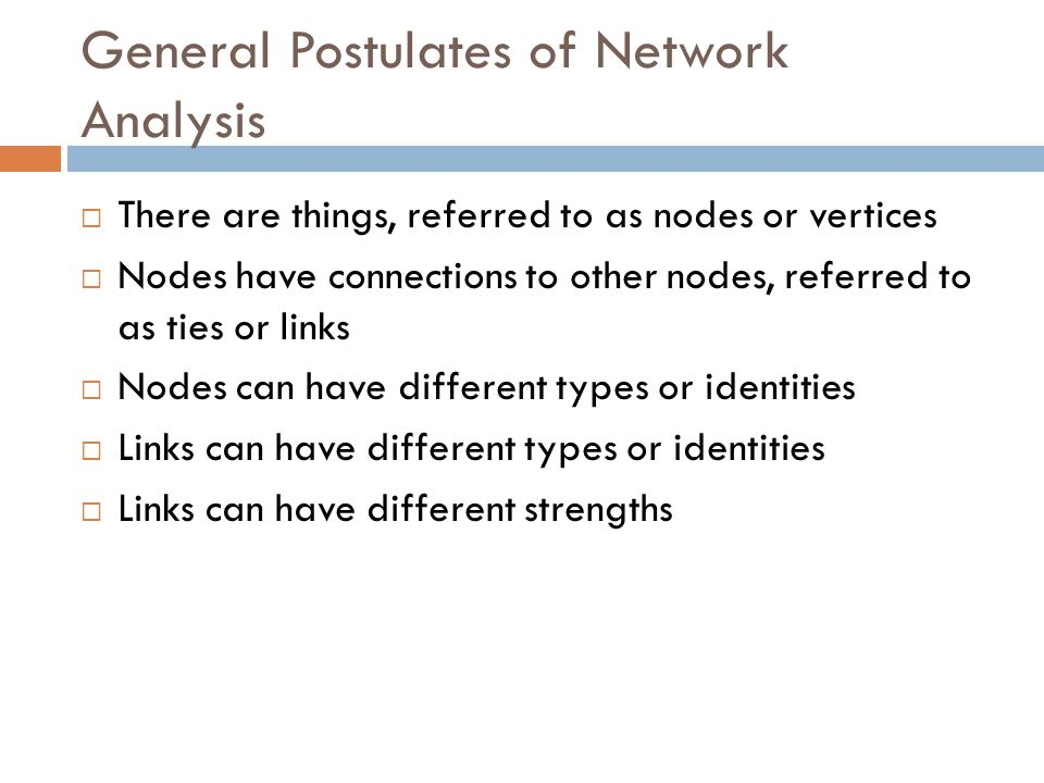 Eigenvector Centrality  A key part of the original PageRank in Google