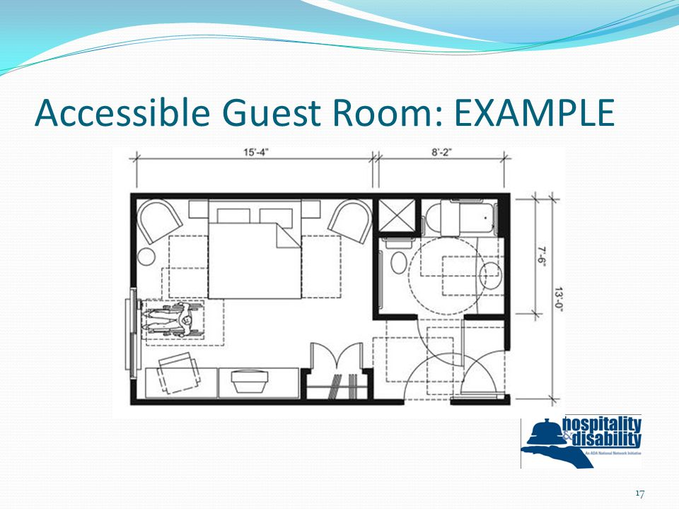 Accessible Guest Room: EXAMPLE 17