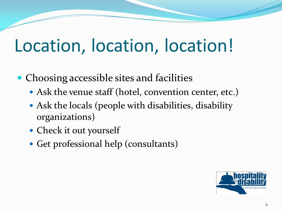 Hotel reservation practices: #5 Guarantee and hold specific rooms reserved by individuals with disabilities, regardless of whether specific rooms are held for others 25