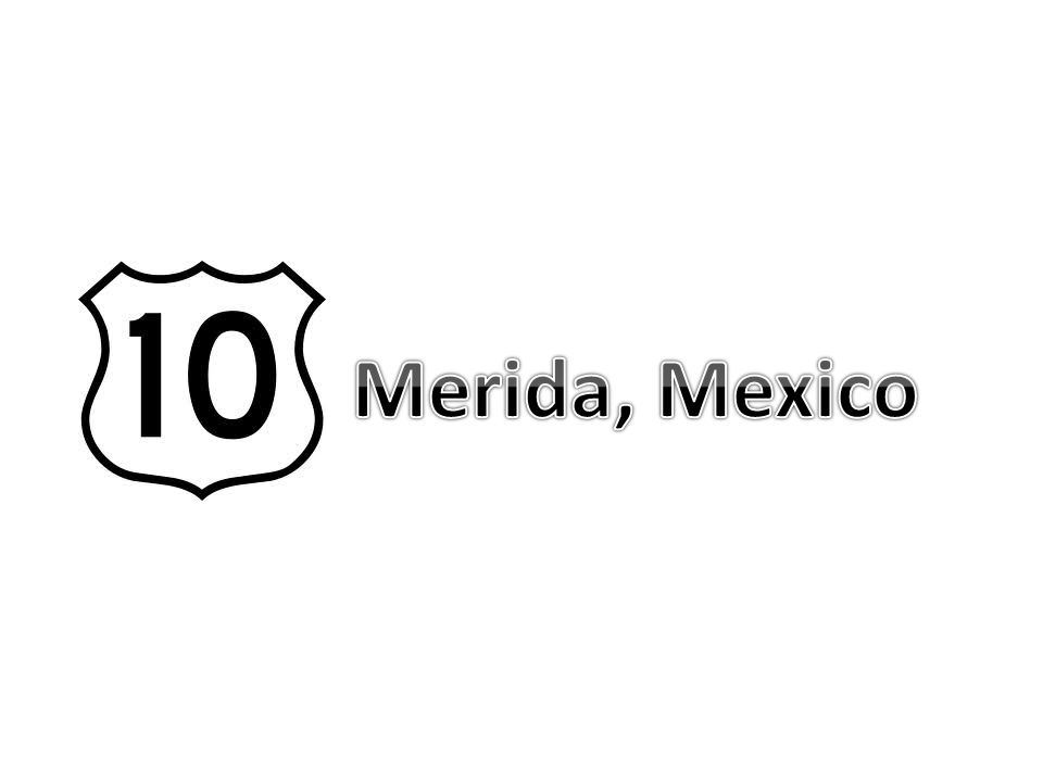 Merida is the capital of the state of Yucatan in Mexico.