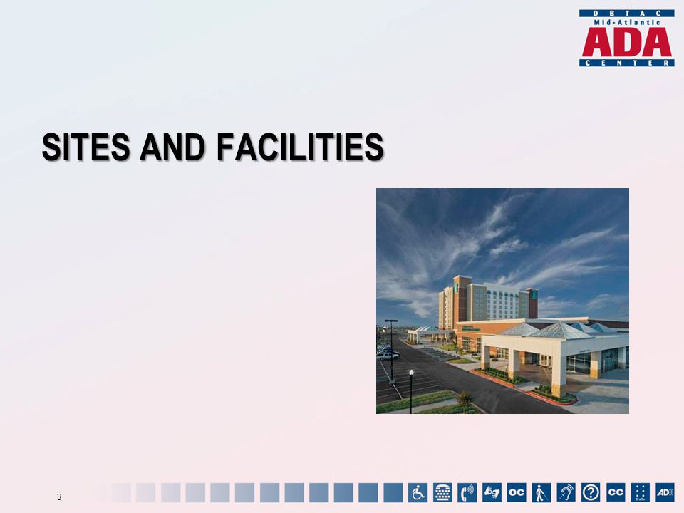 SITES AND FACILITIES 3