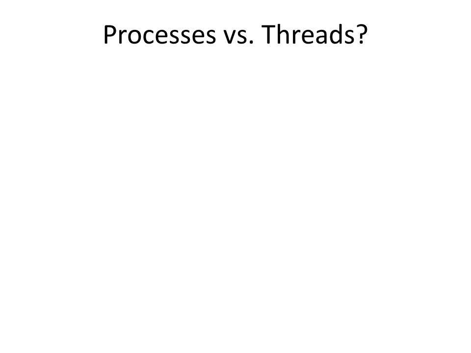Incremental Improvements to Threads Object Oriented programming Coding rules (Acquire locks in the same order…) Libraries (Stapl, Java 5.0, …) Transactions (Databases, …) Patterns (MapReduce, …) Formal verification (Model checking, …) Enhanced languages (Split-C, Cilk, Guava, …) Enhanced mechanisms (Promises, futures, …)