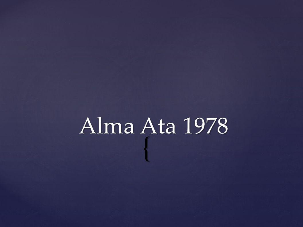 { Alma Ata 1978