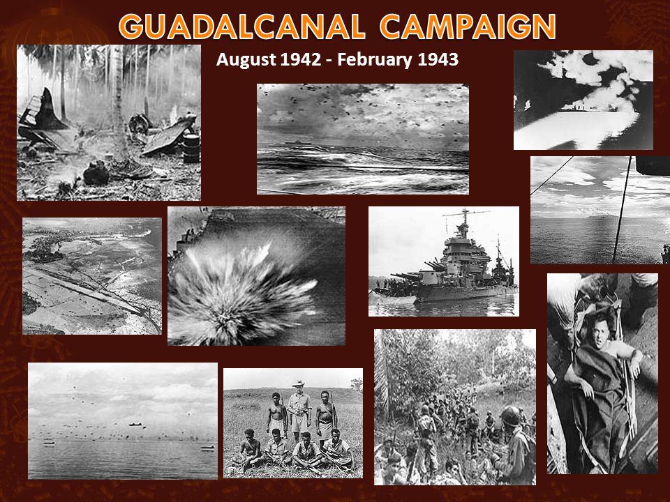 August 1942 - February 1943