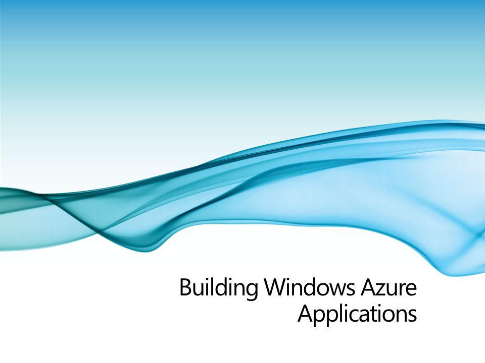 Building Windows Azure Applications