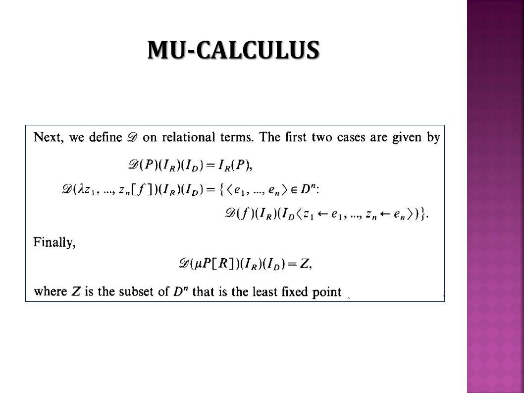 MU-CALCULUS