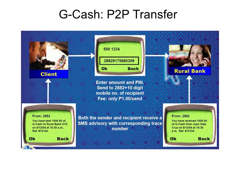 G-Cash: P2P Transfer