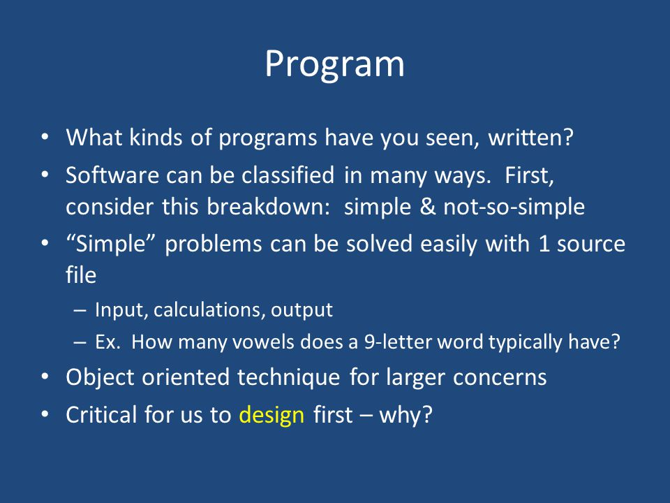 Review You can find my notes for previous course here – http://cs.furman.edu/~chealy/cs11/notes.ppt Java API documentation – http://docs.oracle.com/javase/7/docs/api/ Handout highlights some important things to remember: common errors, I/O, ArrayList class