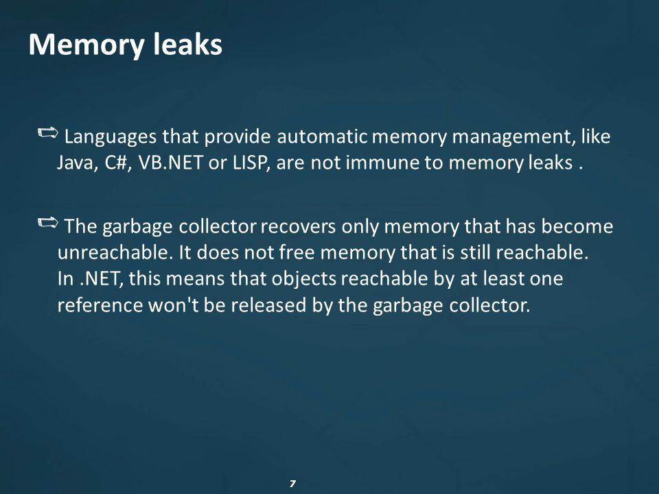 18.NET Memory Profiler
