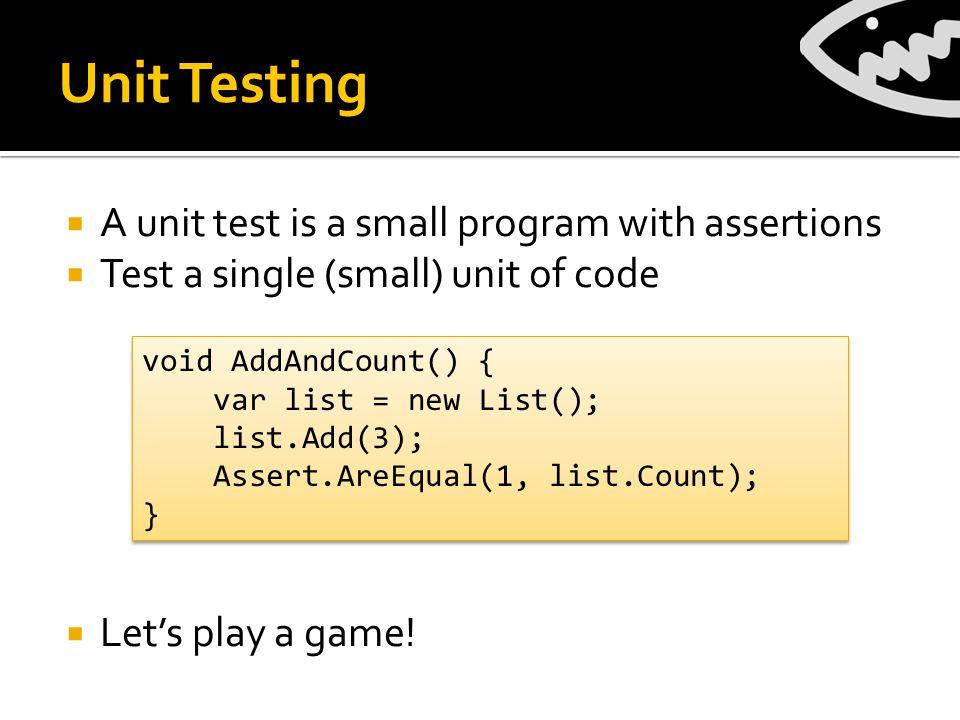 Motivation: Unit Testing Hell ResourceReader