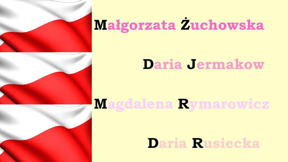 Małgorzata Żuchowska Daria Jermakow Magdalena Rymarowicz Daria Rusiecka