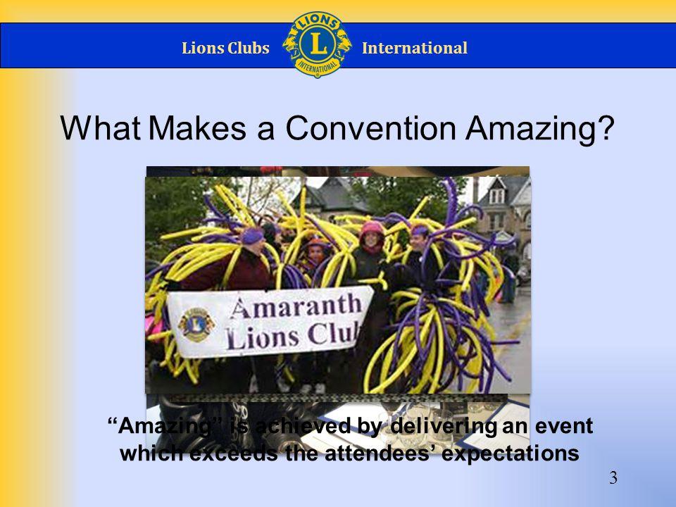 Lions ClubsInternational Promote, Promote, Promote.