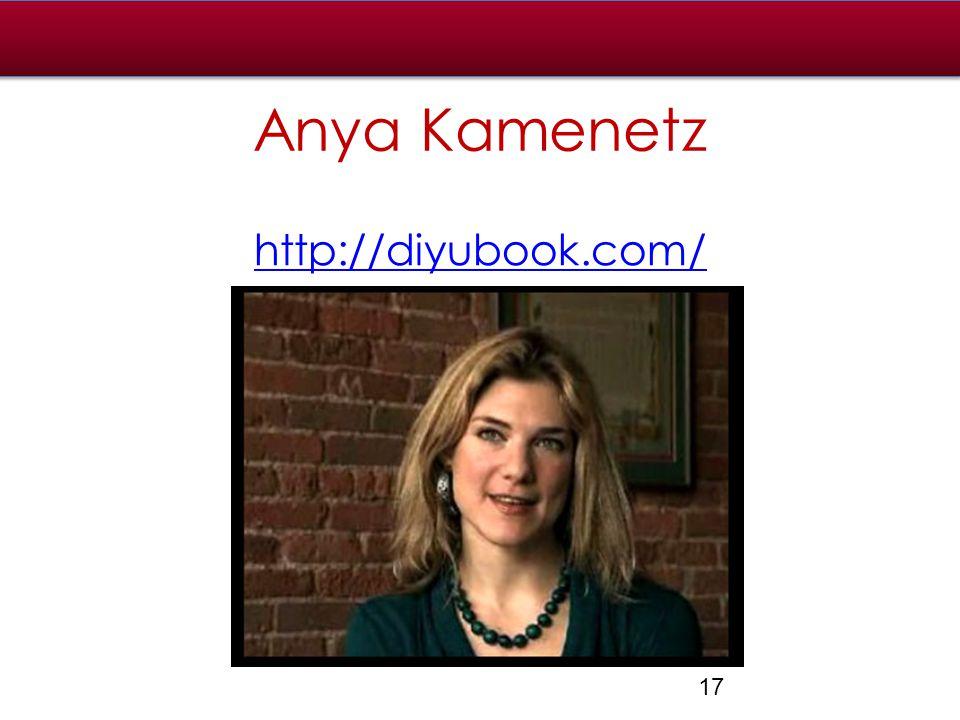 Anya Kamenetz http://diyubook.com/ 17