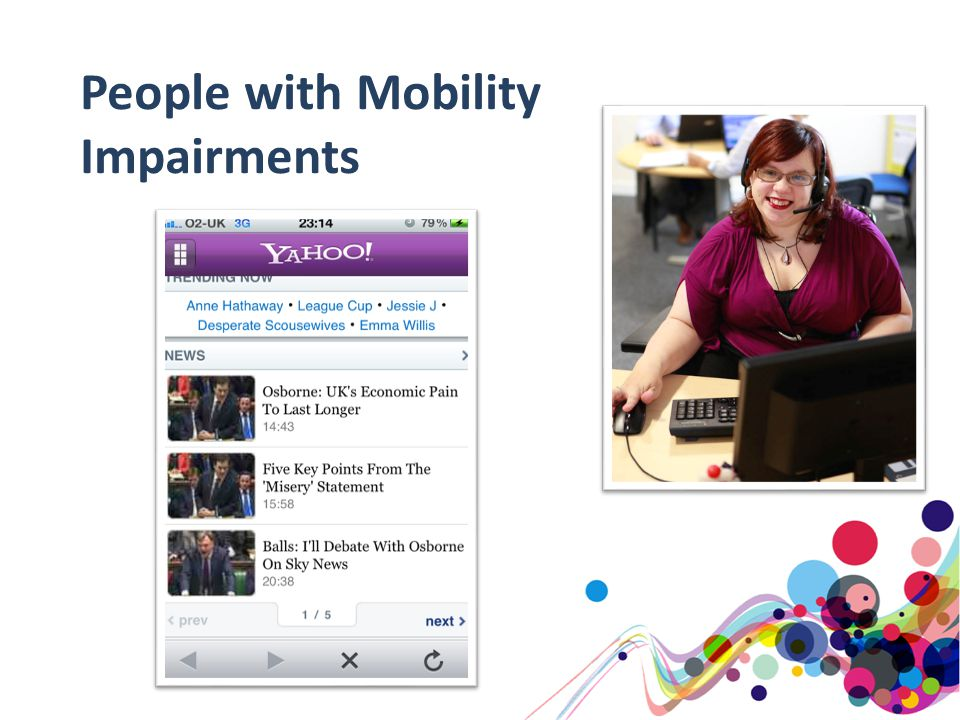 People with Mobility Impairments
