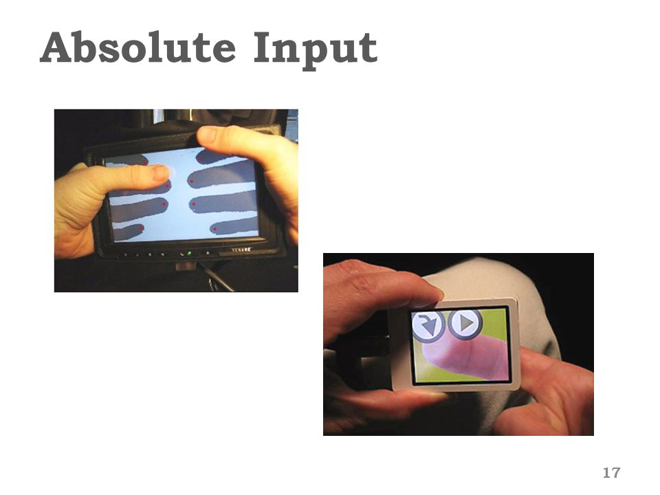 Absolute Input 17