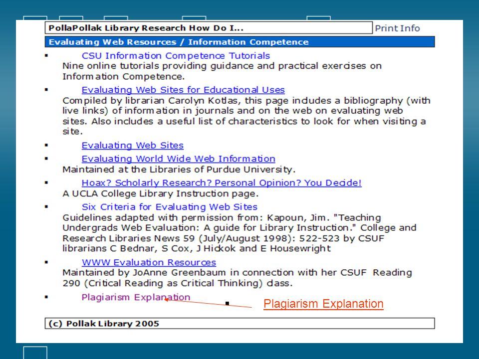  Plagiarism Explanation Plagiarism Explanation