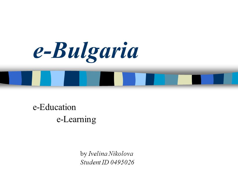 Higher Education Bulgaria has over 40 universities in 26 cities across the country:  around 50% of them offer computer specialties.