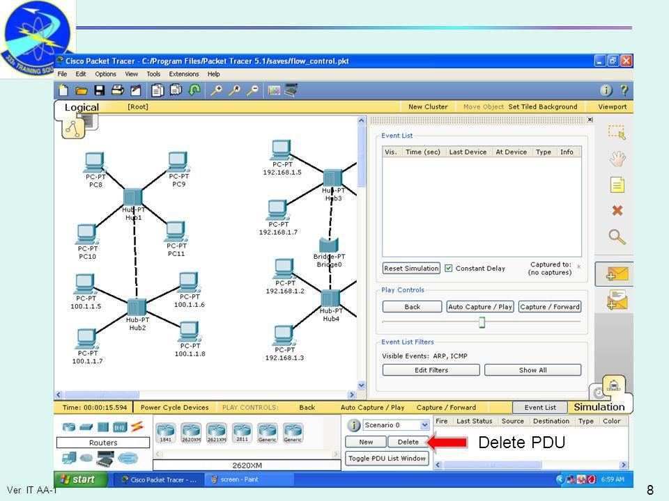 Ver IT AA-1 8 Delete PDU