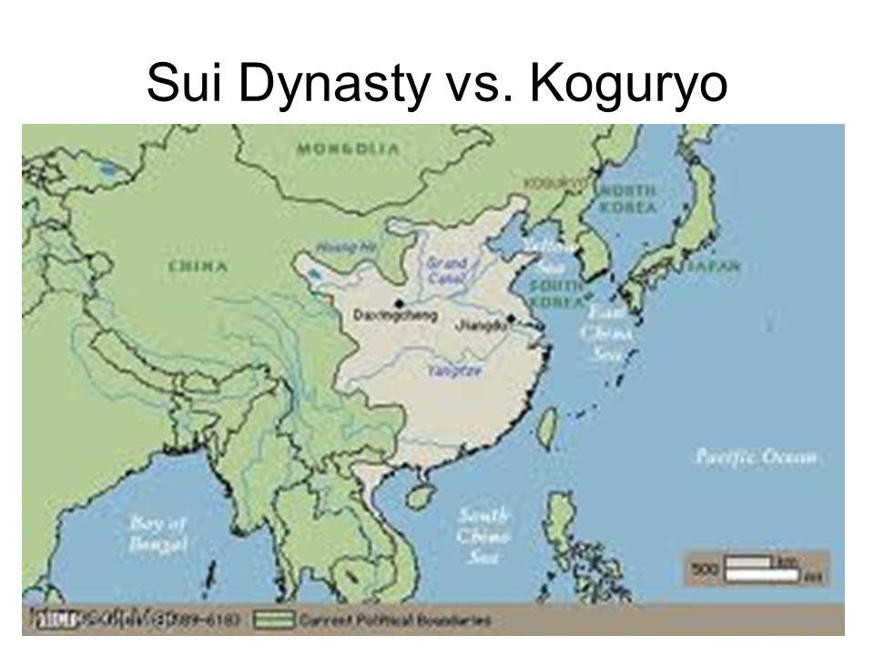 Sui Dynasty vs. Koguryo