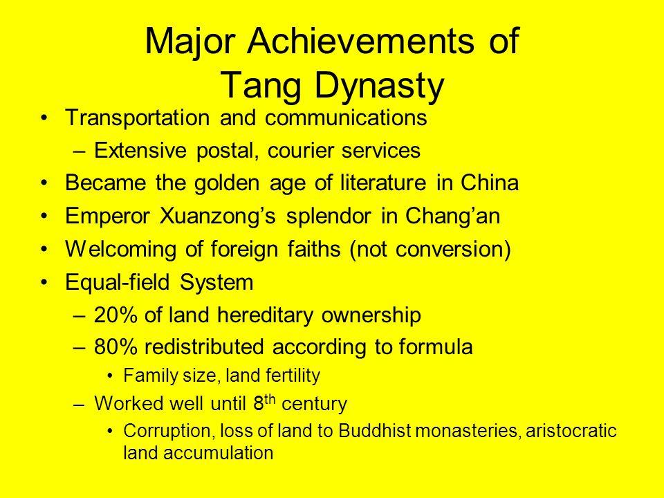 Tang Taizong Second emperor of Tang dynasty (r.
