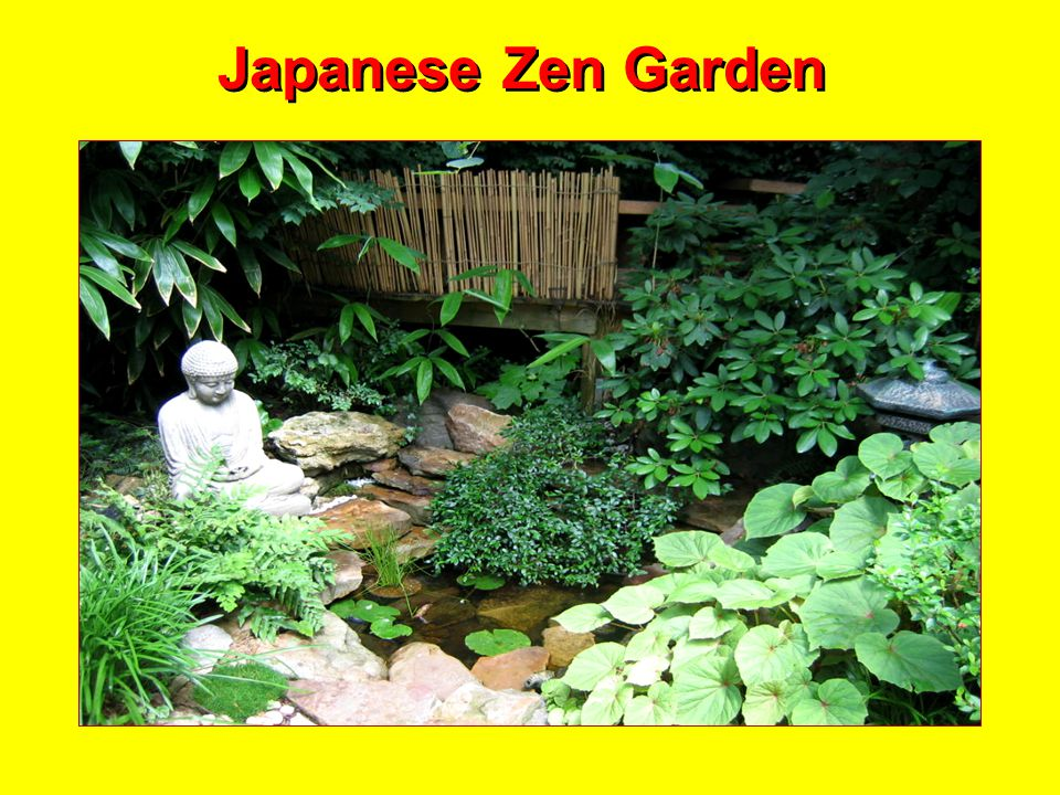 Japanese Garden for Meditation