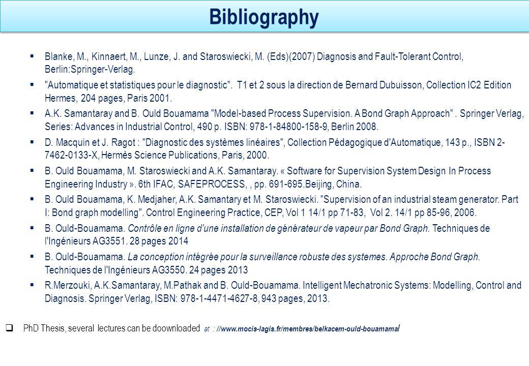 Publications and co publications in the BG and FDI domain 5 BG for Modelling Bg for Supervision mechatronics BG theory LFT BG Intelligent transport FDI software