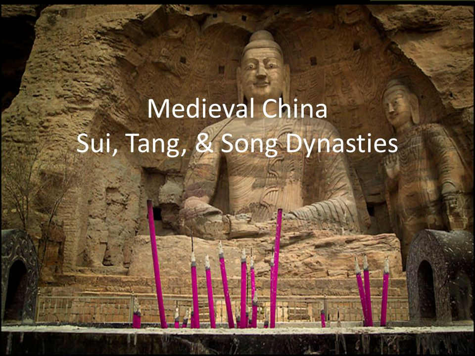 Looking Back & Looking Forward Shang, Zhou, Qin, Han (Ancient-Classical China) With the fall of the Han Dynasty in 220 CE, China alternates between periods of political unity and fragmentation.