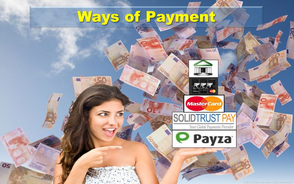 Ways of Payment