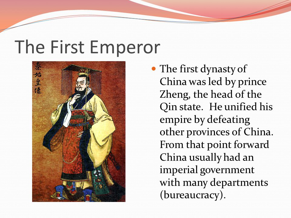 Major Rulers of China