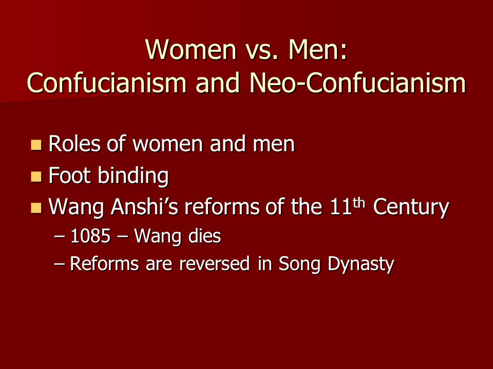 Women vs.