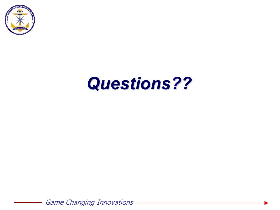 Game Changing InnovationsQuestions