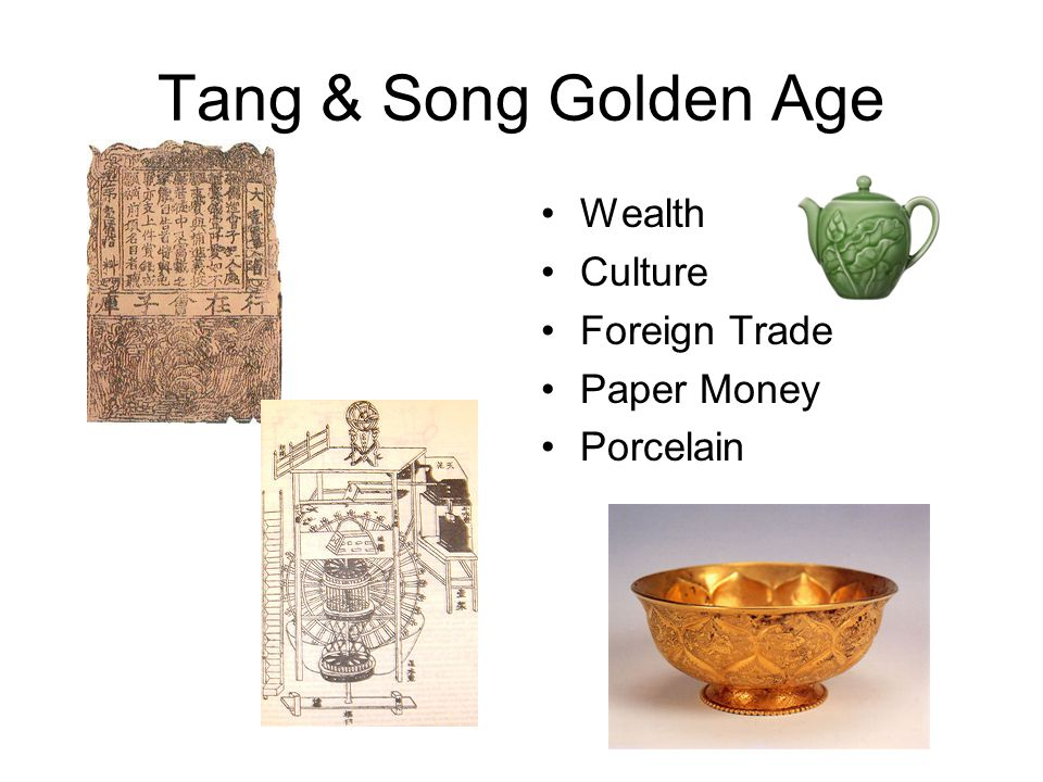 Tang & Song Golden Age Wealth Culture Foreign Trade Paper Money Porcelain