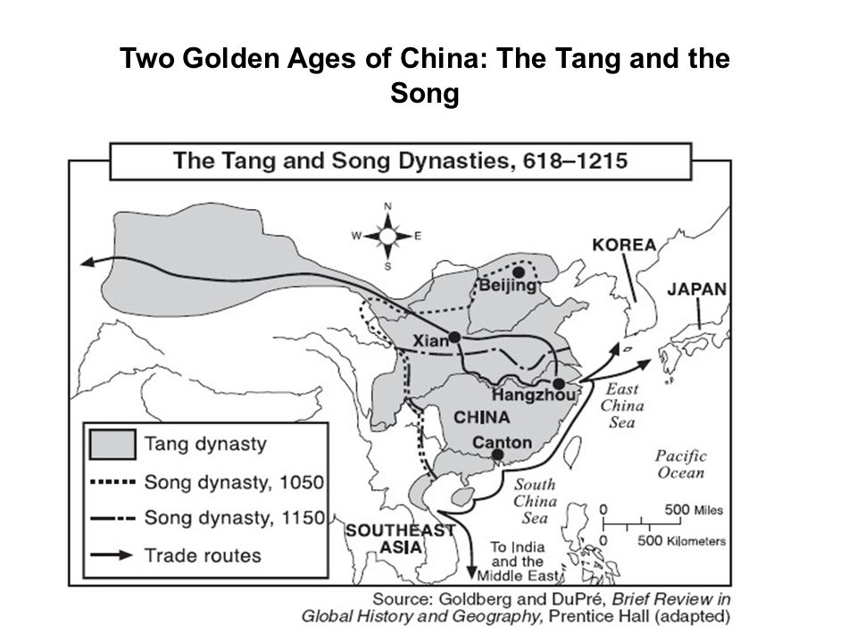 The Sui Dynasty AD 589- 618 The Han Empire (210 BC-Ad 220) like the Roman Empire, collapsed The Sui Dynasty AD 589-618 unified China for the first time in 400 years Emperor Wendi Capital was at Changan Wendi and Yangdi were harsh rulers Forced peasant to fight in army or work on public works projects-(corvee) Wen Di was Buddhist, encouraged Confucianism and Daoism too Continued building Grand Canal Rebuilt Great Wall