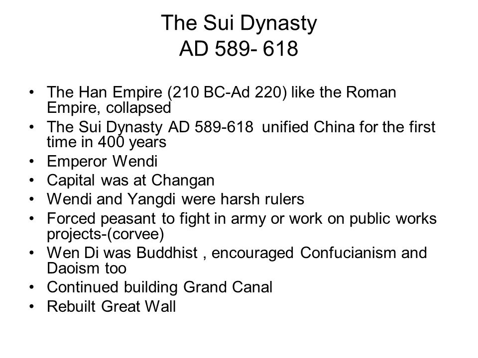 How did this dynasty help China.