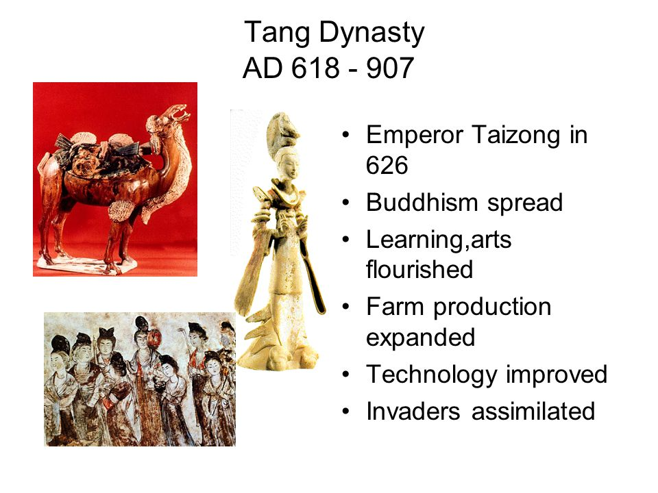 Chinese Society During Tang & Song Well-ordered Highly stratified Gentry Peasantry-relied on each other not government Merchants at the bottom Emperor and aristocratic families at the top