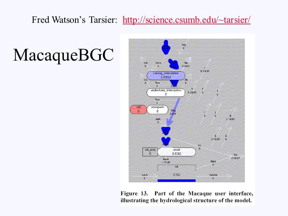 Fred Watson's Tarsier: http://science.csumb.edu/~tarsier/http://science.csumb.edu/~tarsier/ MacaqueBGC
