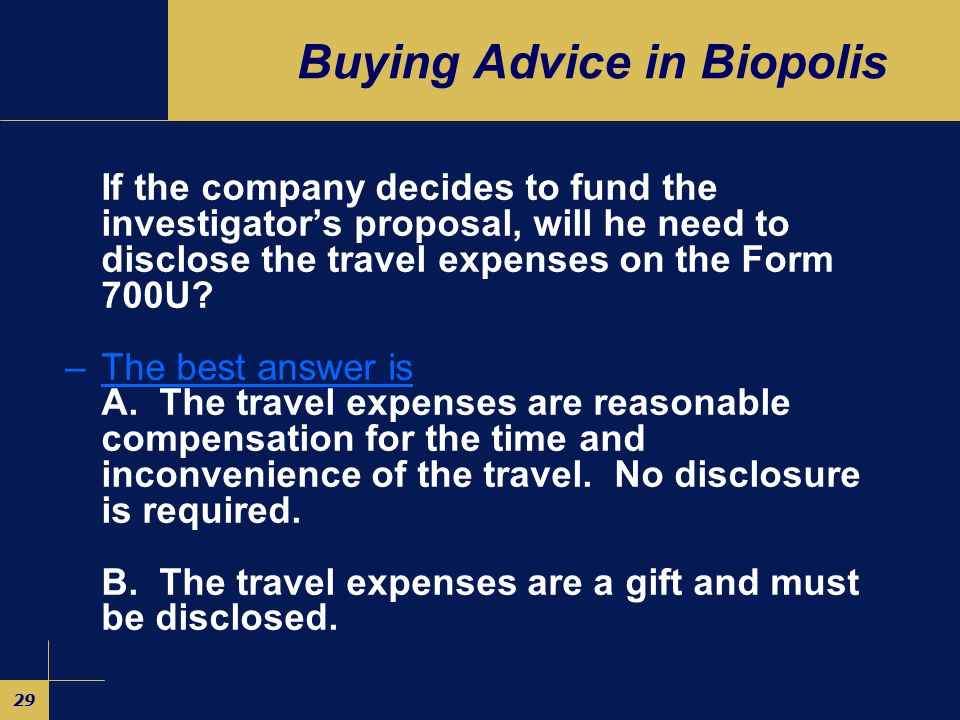 28 Buying Advice in Biopolis A drug company has established a large biotech research and development campus in the Biopolis section of Singapore.