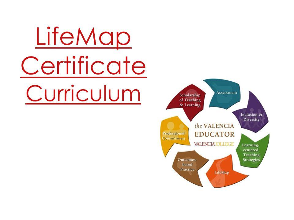 LifeMap Certificate Curriculum