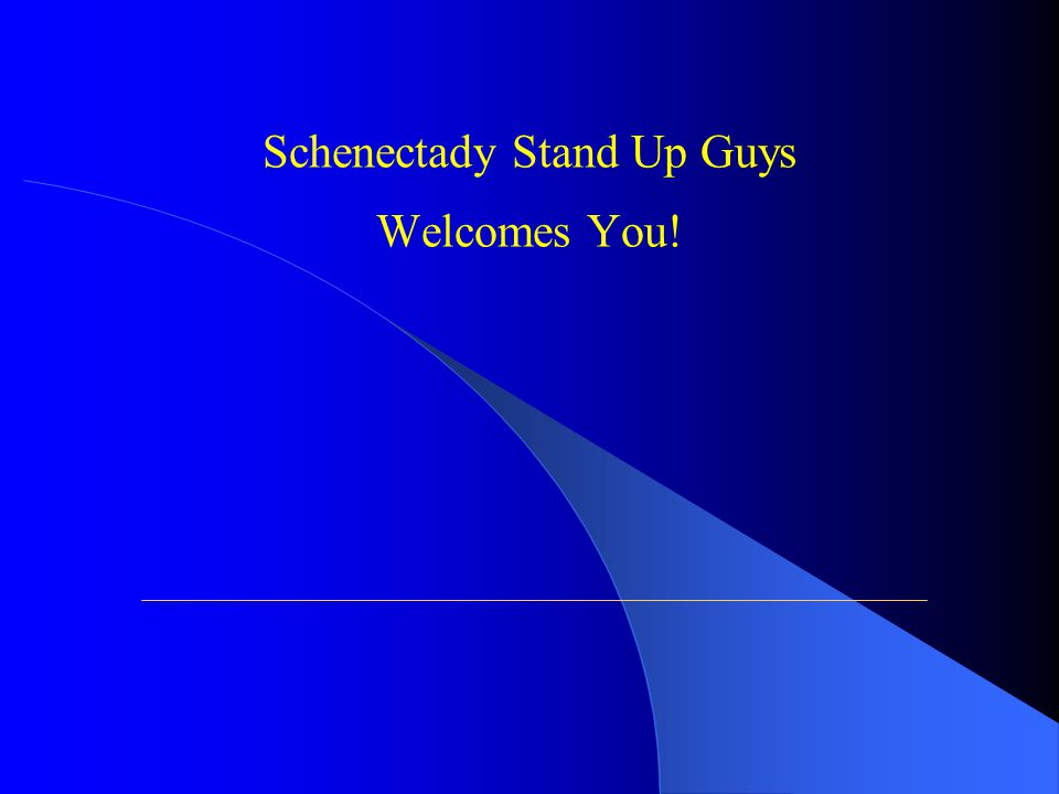 Why Did We Organize Stand Up Guys? You will understand in a few moments!